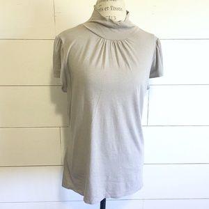 •new• Merona light gray cowl neck top